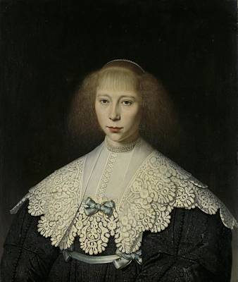 1640 Painting - Agatha Geelvinck by Celestial Images