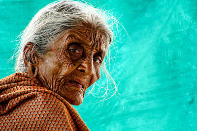Age Is Just A Number Print by Ram Prasad