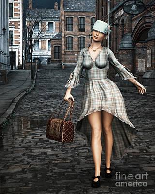 Ageless Fashion Print by Jutta Maria Pusl