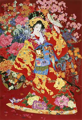 Geisha Photograph - Agemaki by Haruyo Morita