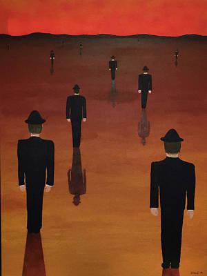 Surrealism Painting - Agents Orange by Thomas Blood