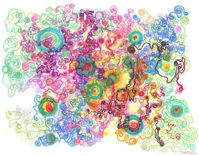 Agglomeration With Pinning Original by Regina Valluzzi