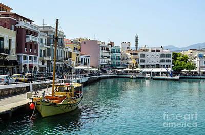 Photograph - Agios Nikolaos Crete by Fine art Photographs