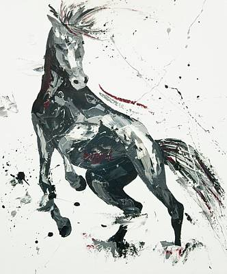 Exuberance Painting - Agitato Fervour by Penny Warden