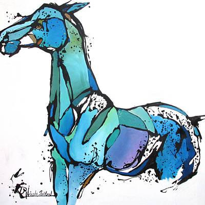 Horse Painting - Ahead by Nicole Gaitan