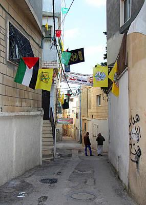 Aida Photograph - Aida Camp Street by Munir Alawi