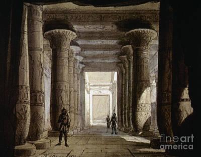 Aida Photograph - Aida Set, 1871 by Granger