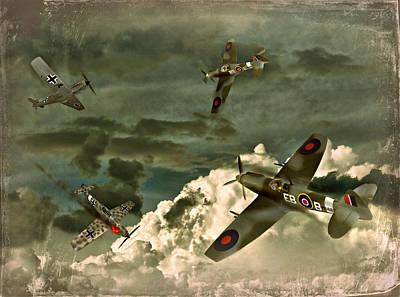 Photograph - Air Attack by Steven Agius