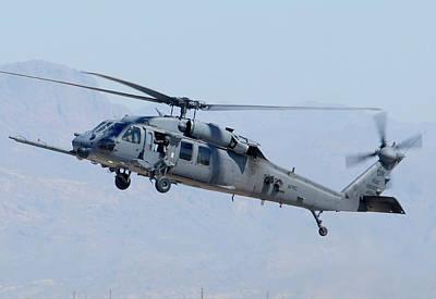 Air Force Sikorsky Hh-60g Blackhawk 90-26228 Mesa Gateway Airport March 11 2011 Print by Brian Lockett