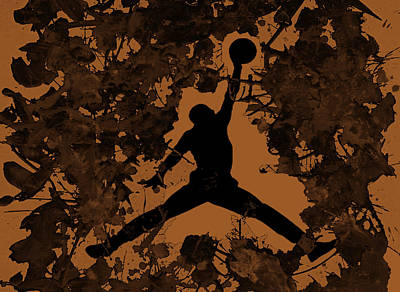 Air Jordan 1a Print by Brian Reaves