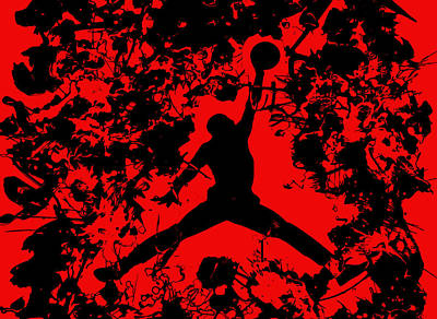 Air Jordan 1b Print by Brian Reaves