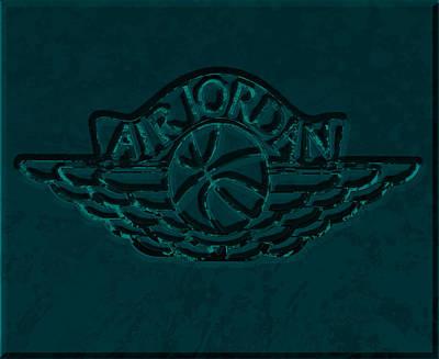 Sneakers Mixed Media - Air Jordan 4d by Brian Reaves