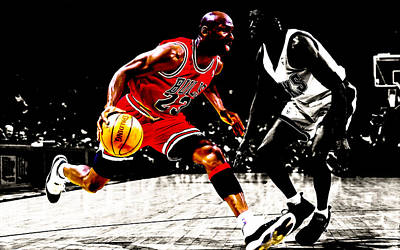Patrick Ewing Digital Art - Air Jordan Shake And Bake by Brian Reaves