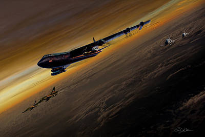 Air Power Legends Print by Peter Chilelli