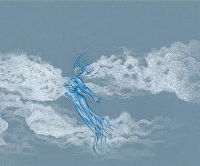 Drawing - Air Spirit 11 by Alma