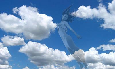 Digital Art - Air Spirit 12 by Alma