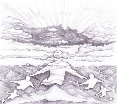 Drawing - Air Spirit 15 by Alma