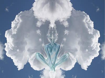 Digital Art - Air Spirit 2 by Alma