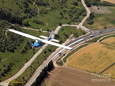Aerial Photograph - Air Tour by Arik Baltinester