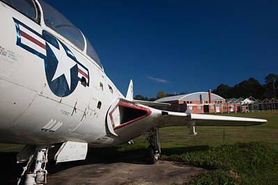 Airplane At A Historic Site, Tuskegee Print by Panoramic Images