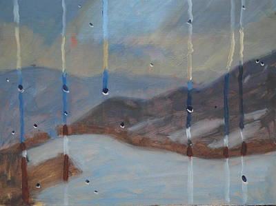 Airyhill From The Kitchen Window Original by Len Stomski