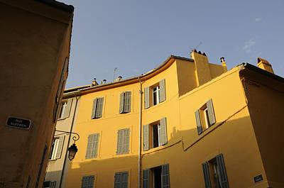 Europe Provence Aix-en-provence Photograph - Aix En Provence Colors by Kevin Oke