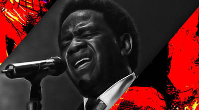 Poster Mixed Media - Al Green Collection by Marvin Blaine