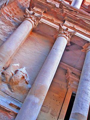 Al Khazneh Or The Treasury At Petra. Original by Andy Za
