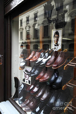 Mens Shoe Photograph - Al Pacino's Shoe Collection by James Brunker