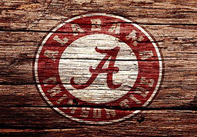 Champion Mixed Media - Alabama Crimson Tide 1a by Brian Reaves