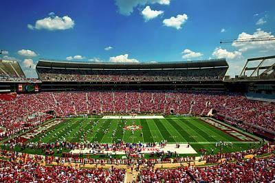 Alabama Football - Spring Game Print by Mountain Dreams