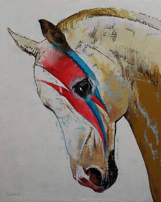 Fan Art Painting - Rock Star by Michael Creese