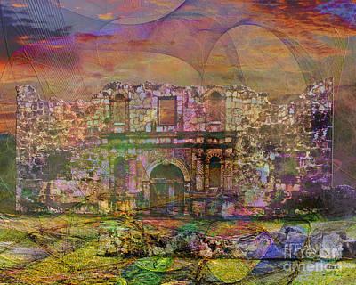 Alamo - After The Fall Print by John Robert Beck