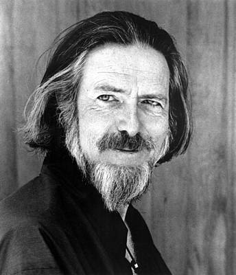 Photograph - Alan Watts, Early 1970s by Everett