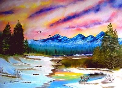 Alaska Print by Eva Borowski