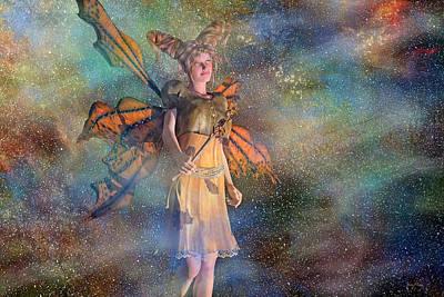 Elf Digital Art - Alaska Stars  by Betsy C Knapp