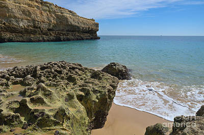 Beach Photograph - Albandeira Cliffs And Rocks by Angelo DeVal