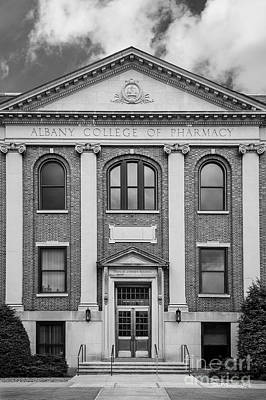 Albany College Of Pharmacy O' Brien Building Print by University Icons