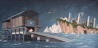 Albatross Original by Tony Gunning