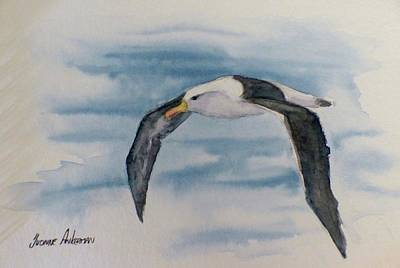 Albatross Painting - Albatross by Yvonne Ankerman