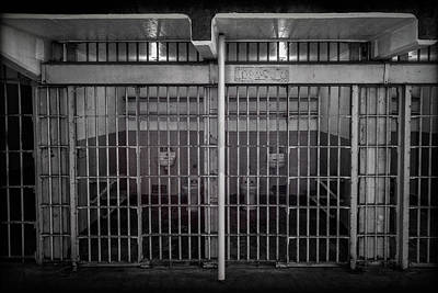 Alcatraz Photograph - Alcatraz Cell Block by Mike Burgquist