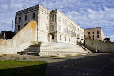Photograph - Alcatraz Prison Courtyard by Gravityx9 Designs