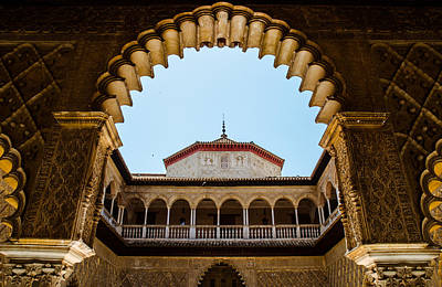 Castle Photograph - Alcazar Of Seville - Spain  by Andrea Mazzocchetti