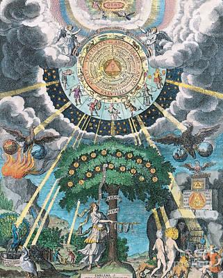Alchemy Coagulation Print by Science Source