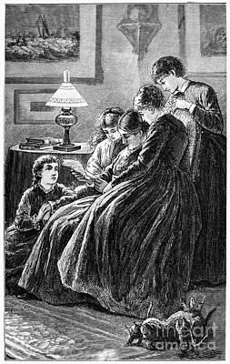 Louisa May Alcott Photograph - Alcott: Little Women by Granger