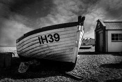 Aldeburgh Fishing Boats Print by Martin Newman