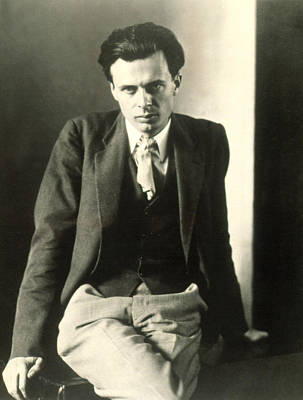 Huxley Photograph - Aldous Huxley by Everett