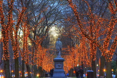 Winter In New England Photograph - Alexander Hamilton On The Commonwealth by Joann Vitali