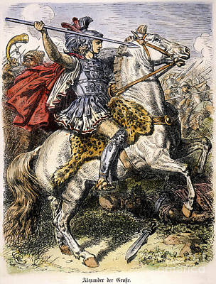 Alexander The Great Print by Granger