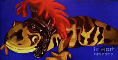 Alexander The Salamander Original by Tiffany Brazell